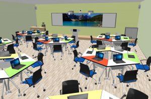 Mô hình lớp học thông minh – Tương tác dễ dàng hơn trong lớp học